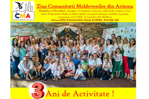 3 ani de activitate - 3 years of existence Moldavian Community in Arizona